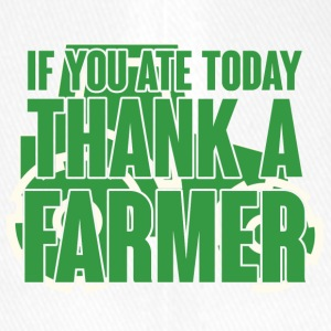 Farmer / Farmer / Farmer: If you ate today, thank - Flexfit Baseball Cap