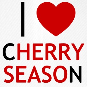 I Love Cherry Season T-Shirt - Flexfit Baseball Cap