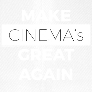 MAKE CINEMAS GREAT AGAIN white - Flexfit Baseballkappe