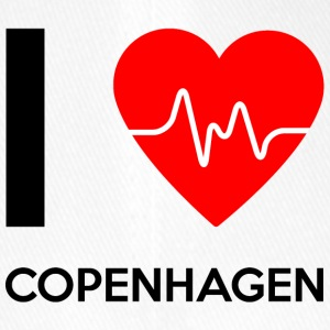 J'aime Copenhague - I love Copenhague - Casquette Flexfit