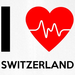 I Love Switzerland - I Love Switzerland - Flexfit Baseball Cap