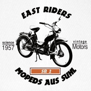 East Riders Mopeds from Suhl - Flexfit Baseball Cap