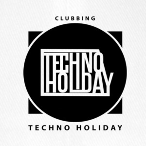 logo_techno_holiday_2017_negro1 - Flexfit Baseballkappe