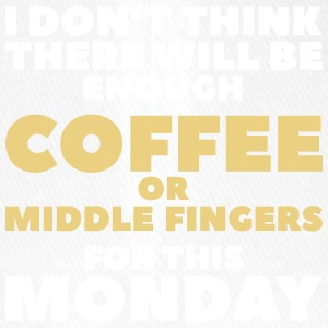 Funny Coffee Quotes> Enough Middlefingers - Flexfit Baseball Cap