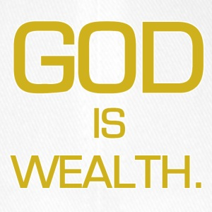 God is wealth. - Flexfit Baseball Cap