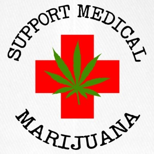 Medical Marijuana Support legalizzare - Cappello con visiera Flexfit