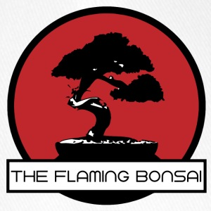 The Flaming Bonsai finalen Company Logo - Flexfit baseballcap