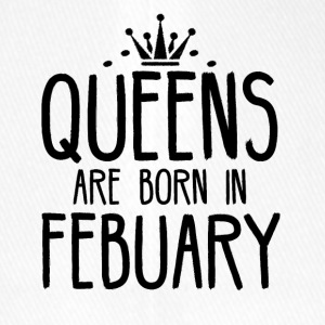 Queens are born in FEBRUARY - Flexfit Baseball Cap