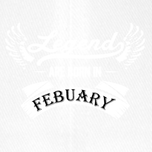 LEGENDS ARE BORN IN FEBRUARY - Flexfit Baseball Cap