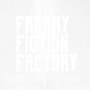Freaky Fiction Factory Offical Logo White - Flexfit Baseball Cap