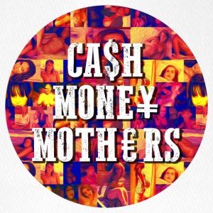 CASH MONEY MOTHERS PRINT - Flexfit Baseball Cap