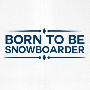 BORN TO BE SNOWBOARDER - BOARDER POWER - Flexfit Baseball Cap