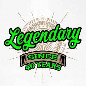 Legendary since 40 years t-shirt and hoodie - Flexfit Baseball Cap