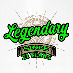 Legendary since 21 years t-shirt and hoodie - Flexfit Baseball Cap