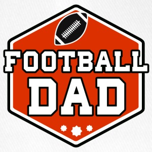 Football Dad - Flexfit Baseballkappe