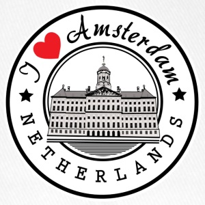 Amsterdam I Love You - Casquette Flexfit