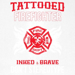 Tattooed firefighter no stereotype - Flexfit Baseball Cap