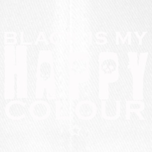 Black is my happy color - Flexfit Baseball Cap