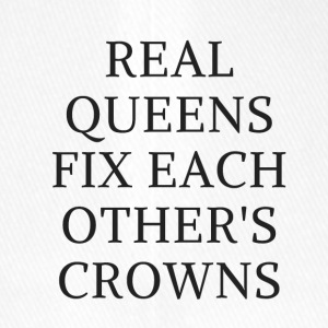 Real Queens fix eachother's crowns - Flexfit Baseball Cap