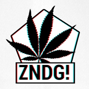Ignition! ZNDG! cannabis leaf - Flexfit Baseball Cap