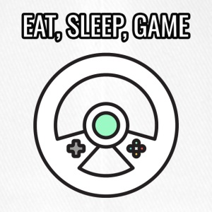 Game / gamer / game: Eat, Sleep, Game - Flexfit Baseball Cap