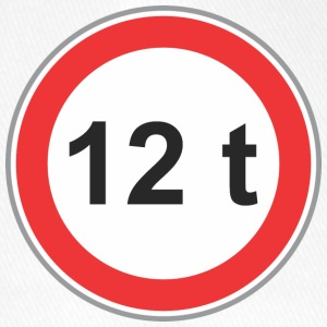 Road sign 12t - Flexfit Baseball Cap