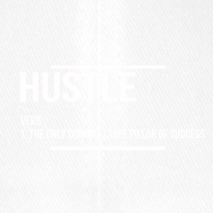 hustle verb - Flexfit Baseball Cap