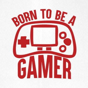 Gamer - Born to be a Gamer - Flexfit Baseballkappe