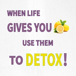 When life gives you lemons you use them to detox! - Flexfit Baseball Cap