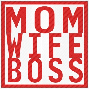 Mom Wife Boss - Flexfit baseballcap