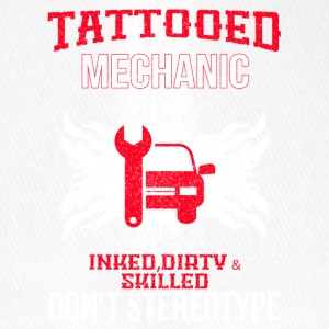 TATTOOED MECHANIC - Flexfit Baseballkappe