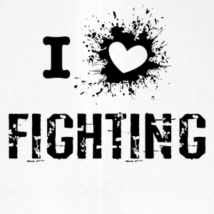 iLove Fighting - Flexfit Baseballkappe