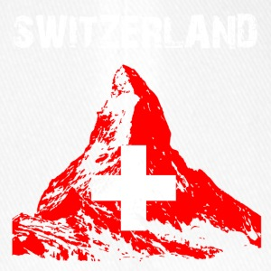 Nation-Design Switzerland Matterhorn - Flexfit Baseball Cap