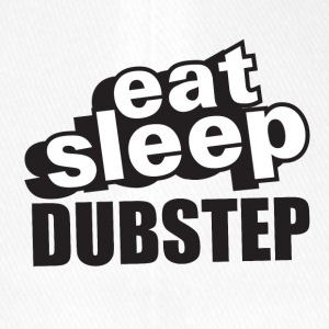 Eat Sleep Dubstep - Casquette Flexfit