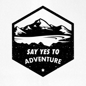 Say yes to the adventure - Flexfit Baseball Cap