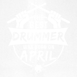 The best drummers are born in April - Flexfit Baseball Cap