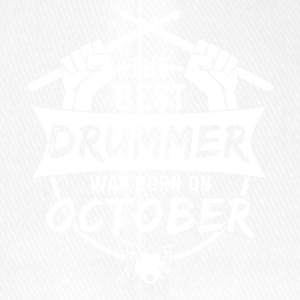 The best drummers were born in October - Flexfit Baseball Cap