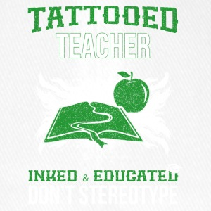 tattooed teacher - Flexfit Baseballkappe