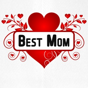 Best Mom - Flexfit Baseballkappe