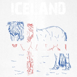 Nation-Design Islande Cheval - Casquette Flexfit