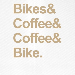 BIKE & COFFEE - Flexfit baseballcap