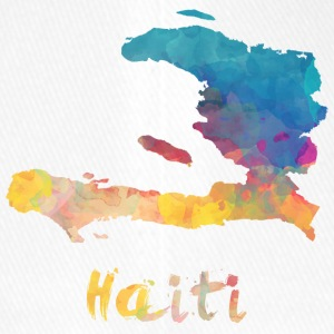 Haitian Watercolor Country - Flexfit Baseballkappe
