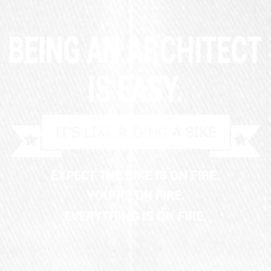 BEING AN ARCHITECT - Flexfit Baseballkappe