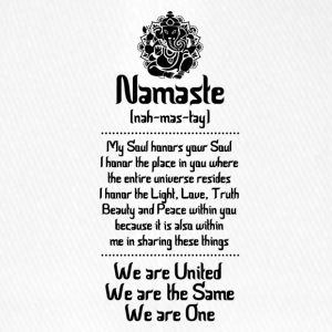 NAMASTE | WE ARE ... - Flexfit Baseball Cap