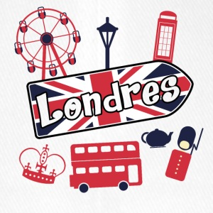I love Londres - Casquette Flexfit