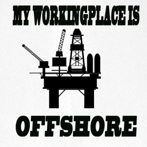 MY WORKINGPLACE IS OFFSHORE - Flexfit Baseballkappe