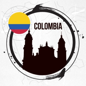 Colombia T-Shirt - Flexfit Baseball Cap