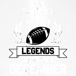 Football Legends! Verjaardag! december - Flexfit baseballcap