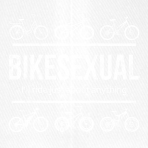 BIKESEXUAL I'LL RIDE JUST ABOUT ANYTHING - Flexfit Baseball Cap