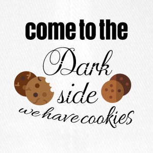Come to the dark side because we have cookies - Flexfit Baseball Cap